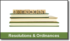 Resolutions & Ordinances