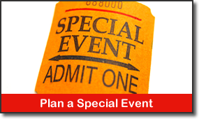 Plan a Special Event