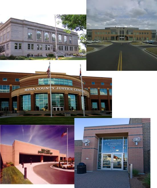 Mesa County Building Collage