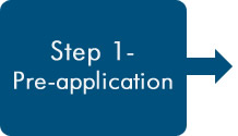 Step 1 - Pre-application button