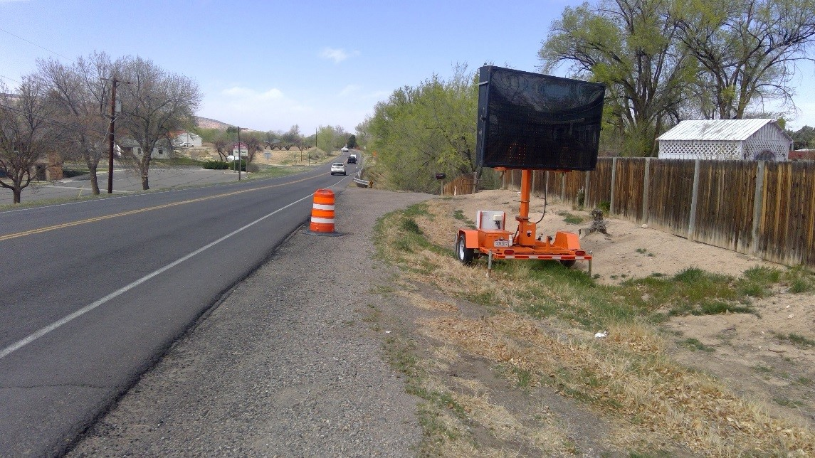 SH 340 Sidewalk Project, Vista Grande Drive to Kansas Avenue before