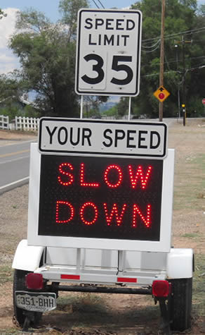 Vehicle Speed Monitoring Mesa County Colorado