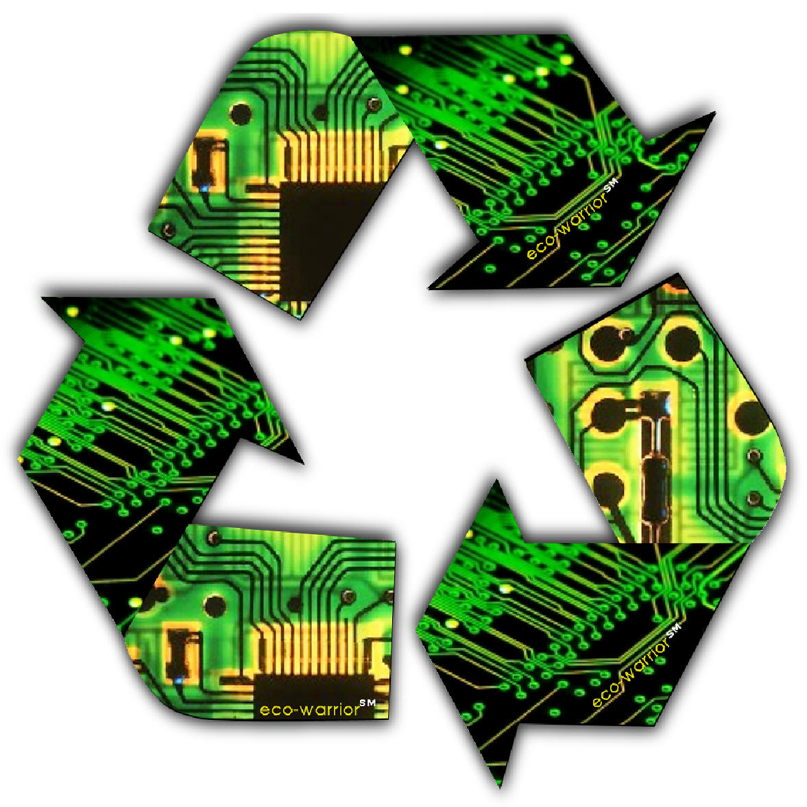 Electronic Recycling Logo