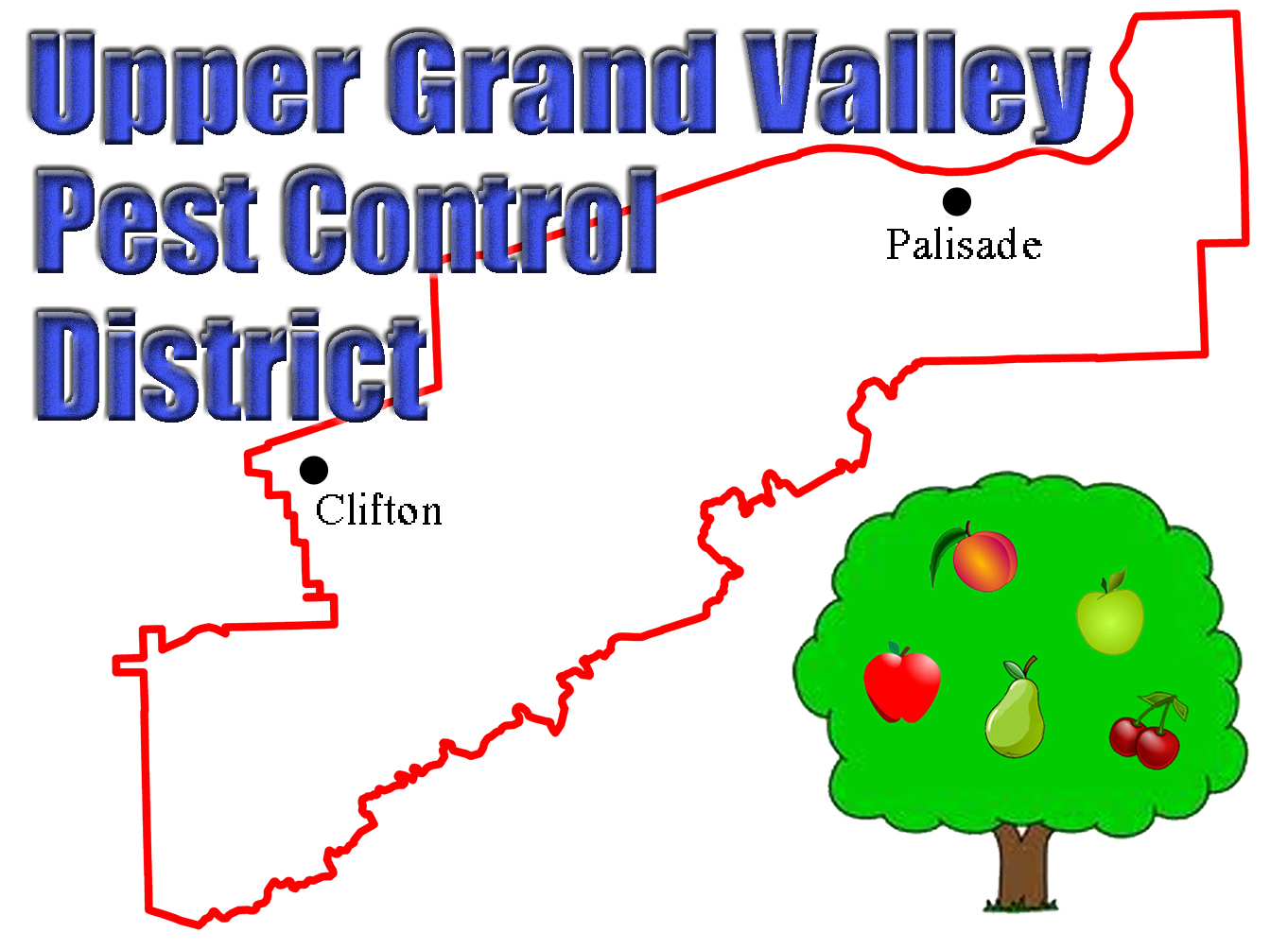 Upper Grand Valley Pest Control District Logo